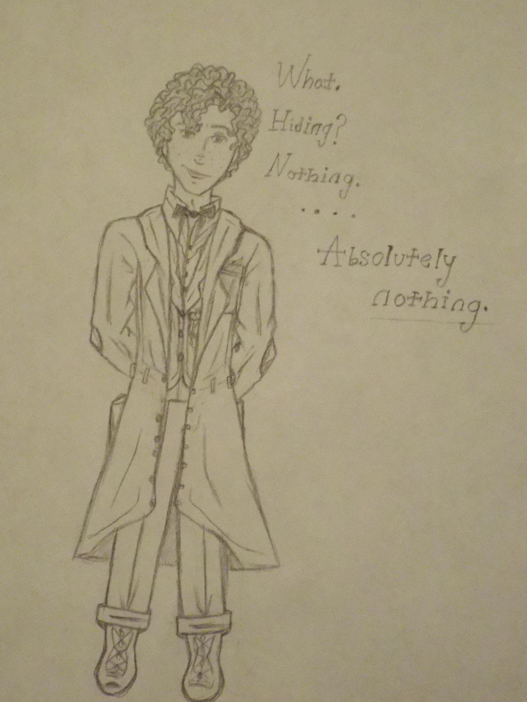 Newton A. F. Scamander Full Body by TheSisters2