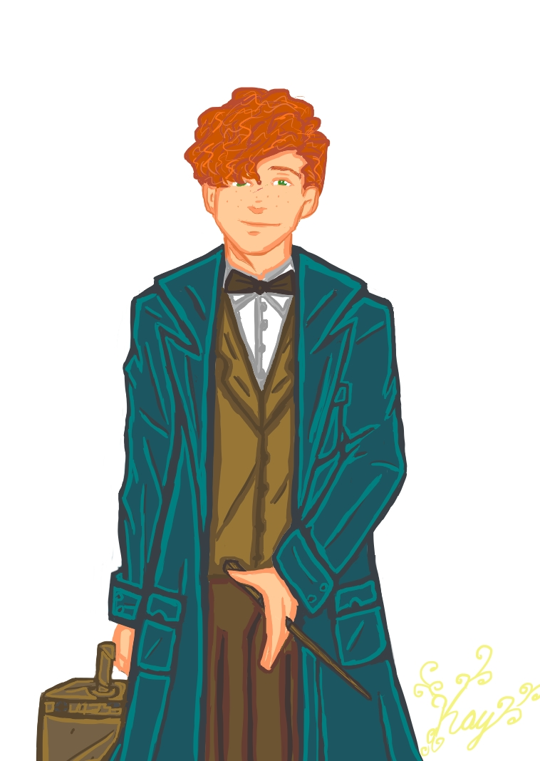 Newton Scamander-A Magizoologist by TheSisters2