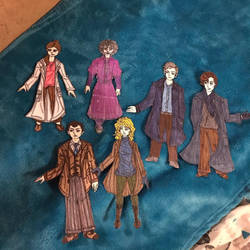 Paper Dolls that I created! BBC Sherlock