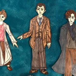 Mycroft Holmes Paper Doll (BBC Sherlock)