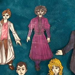 Mrs. Hudson paper doll (BBC Sherlock)