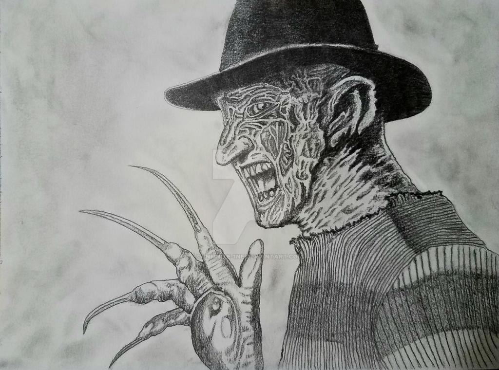 Freddy Krueger by 1nfinite-1ne