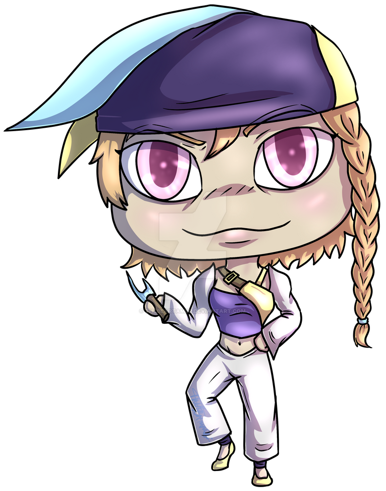 Lydia Chibi Commission by TheBearTamer