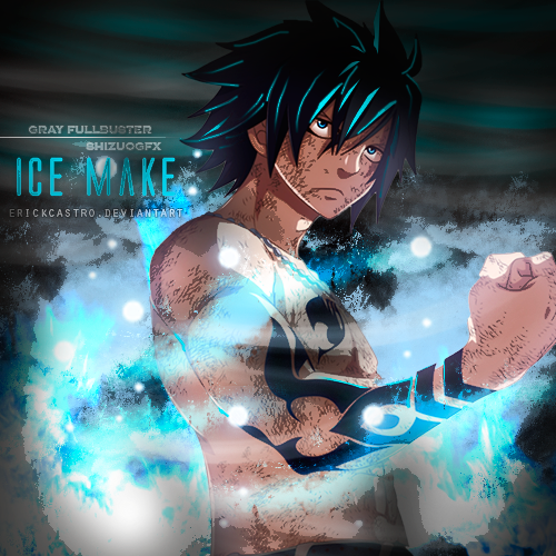 gray fullbuster ice gray fullbuster ice make by