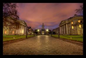 Trinity College Dublin by SneachtaPix