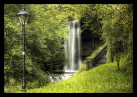 Glencar Waterfall by SneachtaPix
