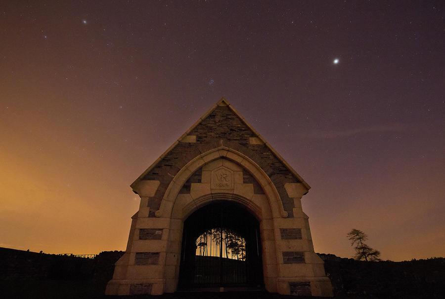 Gates To Night by SneachtaPix