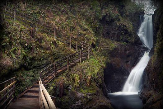Glenairiff Falls