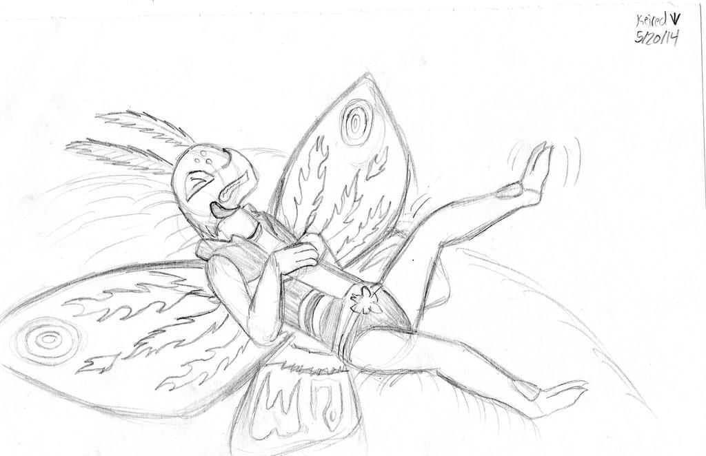 Leo's nightmare sketch by Dinoboy134
