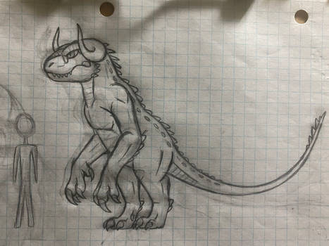 The Minotaur lizard