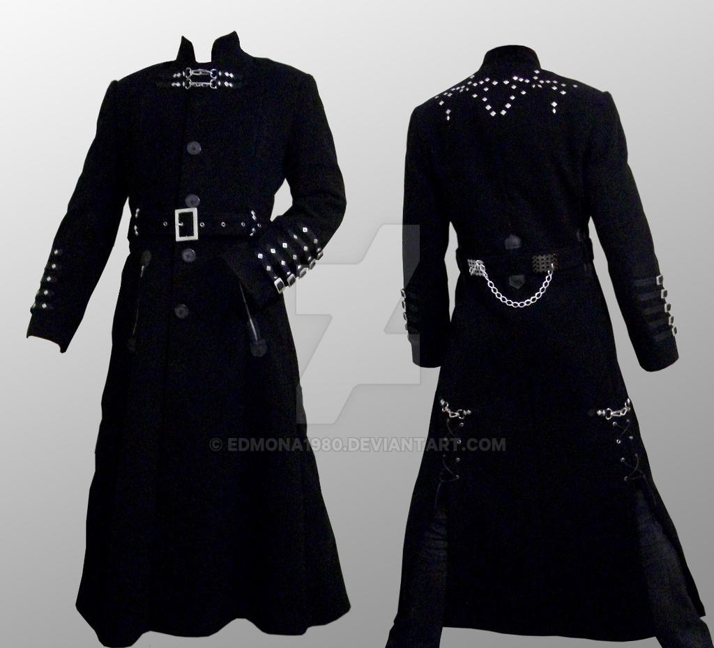 Gothic man coat ((c) Elven Eclipse lable) by edmona1980