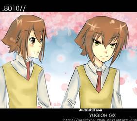 GX : Under the Sakura Tree by sarafyna-chan