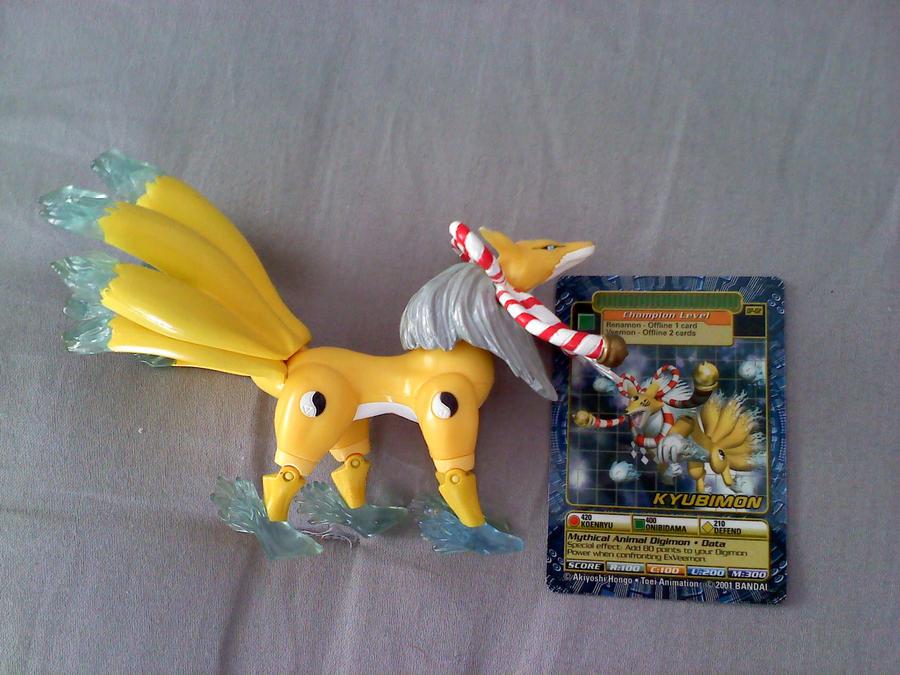 Digimon: Kyubimon by PysiCollectionCorner
