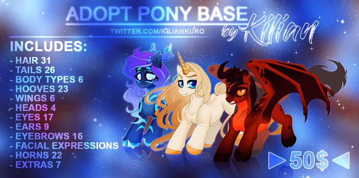 Pony base |OPEN
