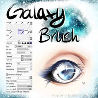 Galaxy Brush - SAI by MiYuki-Arts