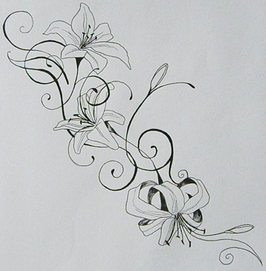 Miley cyrus tattoo tiger lily the best design tattoo flowers miley cyrus tattoo tiger lily the best design tattoo flowers tiger lily tattoo drawings pinterest design tattoos tattoo flowers and tiger lily dhlflorist Images