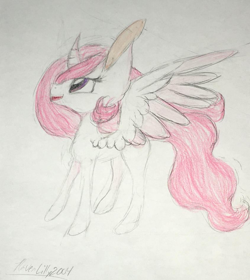 Filly Tia by RavenLilly2004
