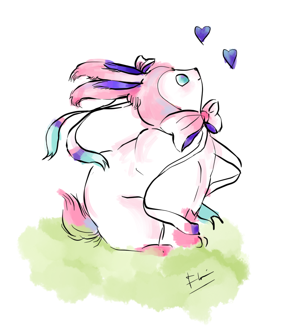 A Fat Sylveon By Imjusthereforref On DeviantArt