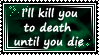 Kill you to death by Moonlight-pendent13