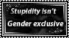 Stupidity stamp by Moonlight-pendent13