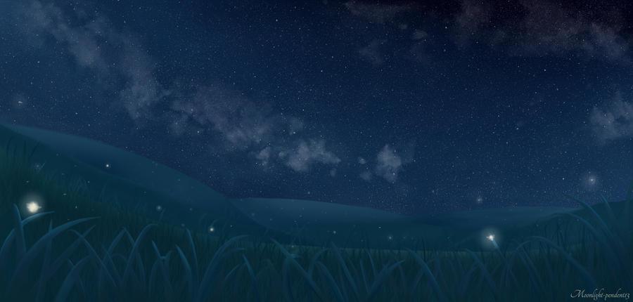 Summer Night by Moonlight-pendent13