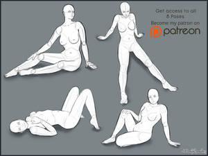 Pose Studies, Pack 3