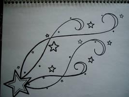 shooting star by MercedesMarie