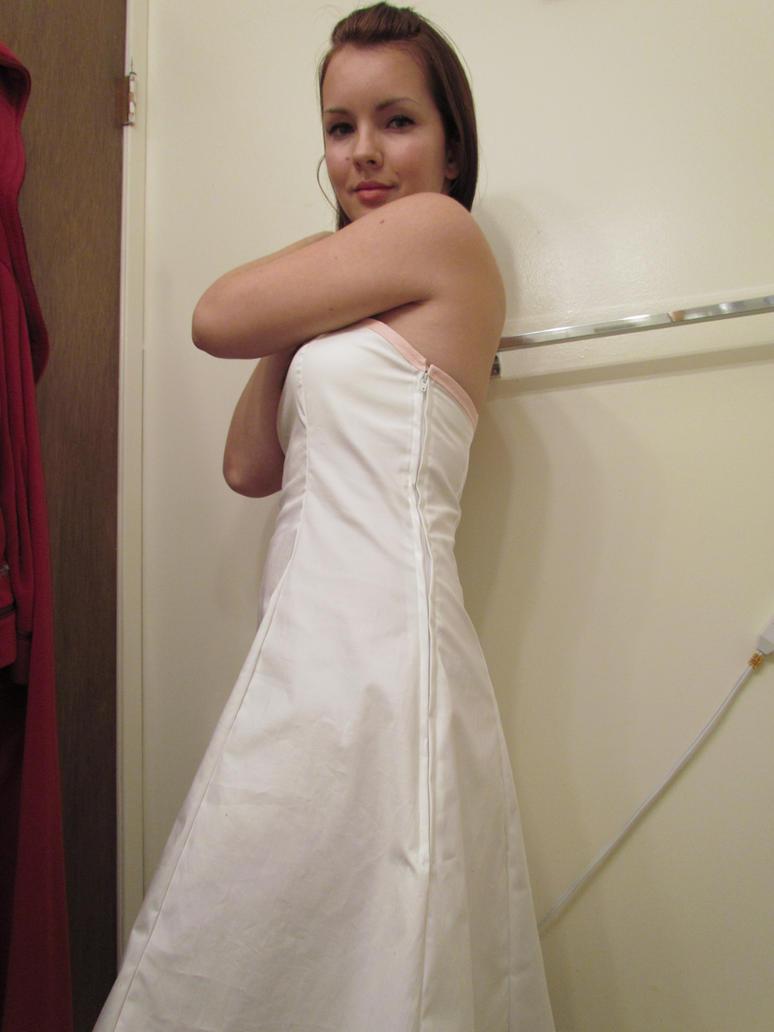 White Dress III -stock- by BiggieShorty