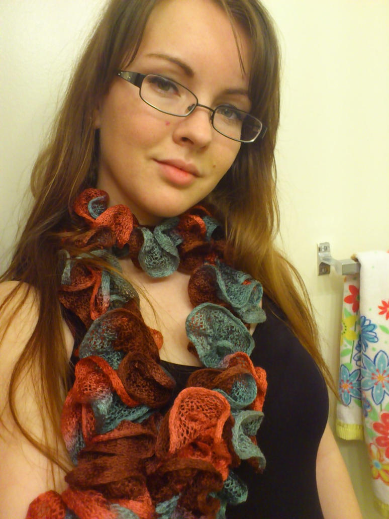 Ruffle Scarf by BiggieShorty