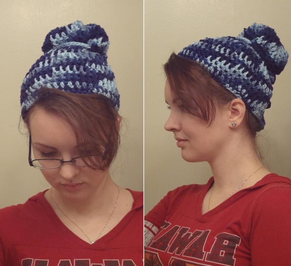 Blue Mesh Hat by BiggieShorty