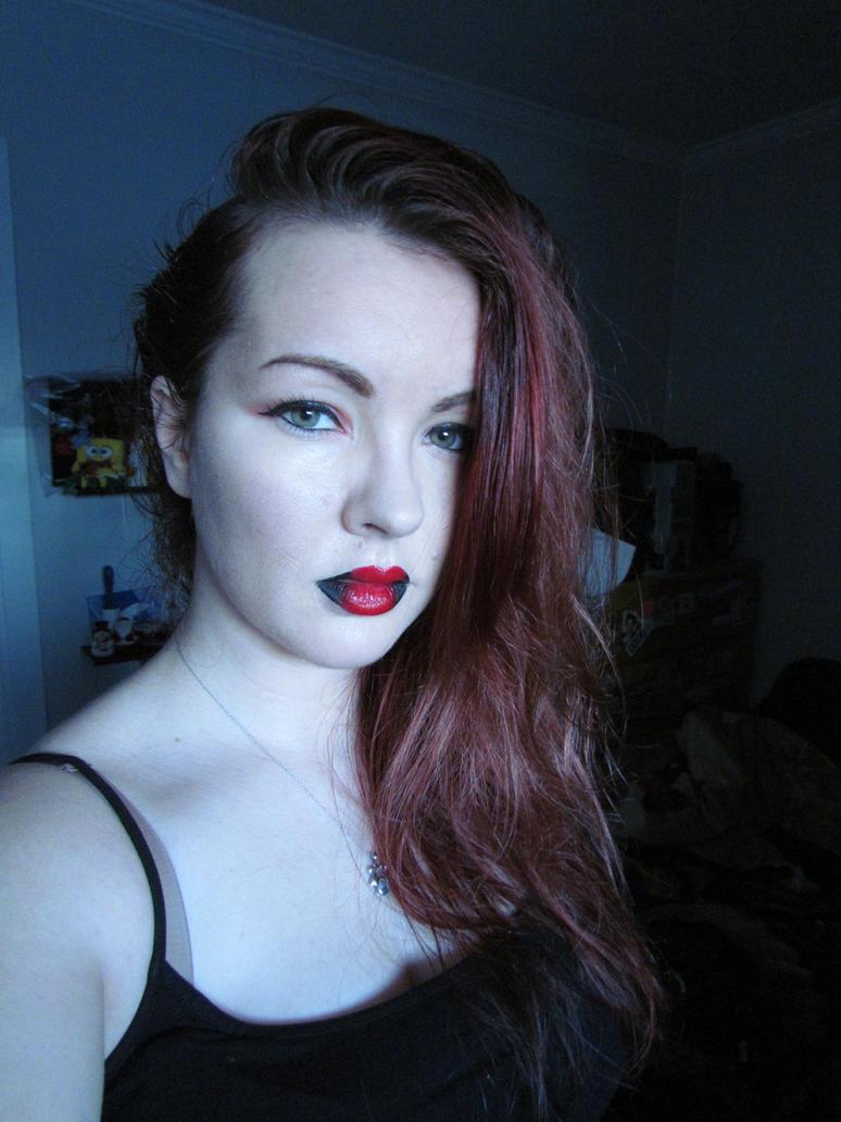 Black n' Red Lips 04 -Stock- by BiggieShorty