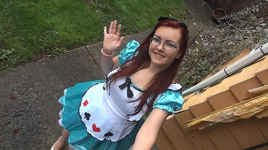 Alice in Wonderland costume by BiggieShorty