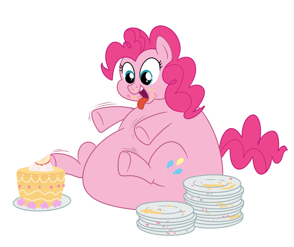 Pig Out Pinkie by Diablo2000 on DeviantArt I Pigged Out For A Week