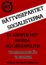 Socialist Justice Party poster.