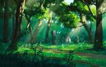 Stardew Valley Fan Art - Secret Woods