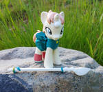 My Little Pony Pearl with spear