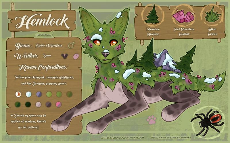 OC: Hemlock by c-Chimera