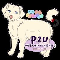 P2U: Australian Shepherd Adoptable Base by c-Chimera