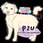 P2U: Australian Shepherd Adoptable Base