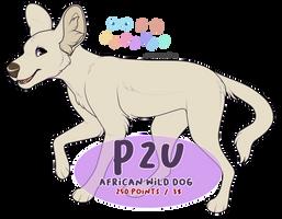 P2U: African Wild Dog by c-Chimera