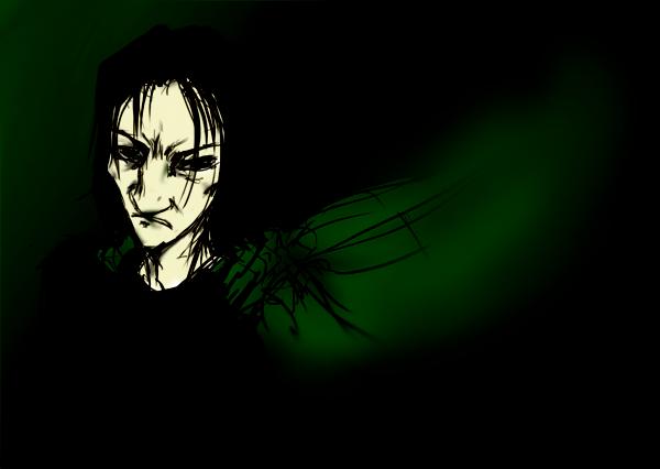 Snape by Nyajinsky