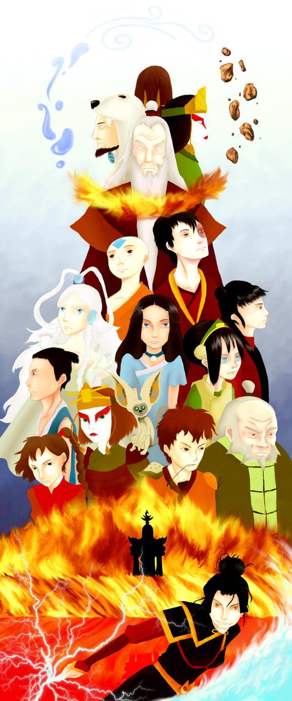 Avatar: the last airbender by Nyajinsky