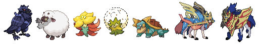 New pokemon sprites