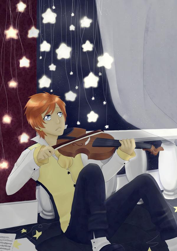 Starlit Sonata by Ainbheartach-McNeko