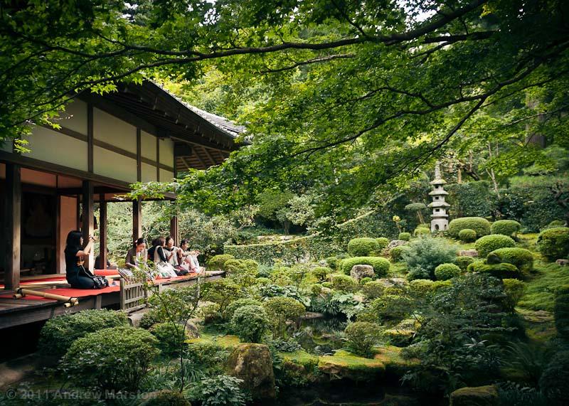 Sanzenin garden in kyoto by andrewmarston on deviantart for Little japanese garden