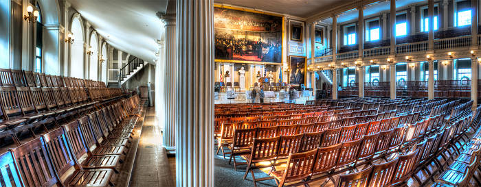 Faneuil Hall - HDR Pano