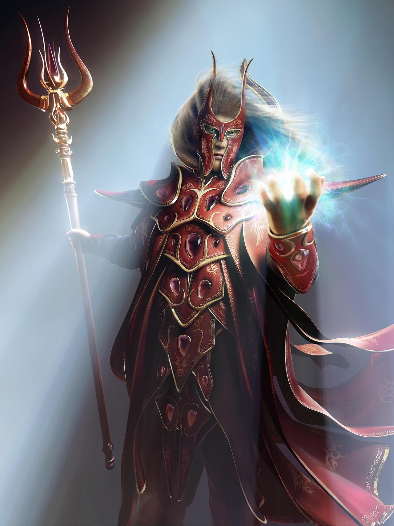 Magicien Et Guerrier dans Fantastique Blood_elf_by_ZivCG