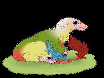 Phenex Troodontid by hell--sent