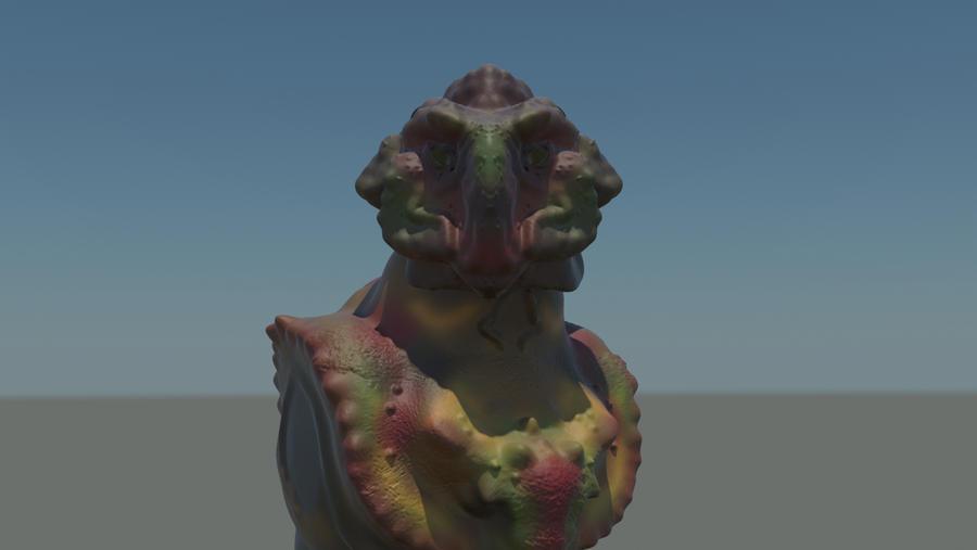 Alien character concept