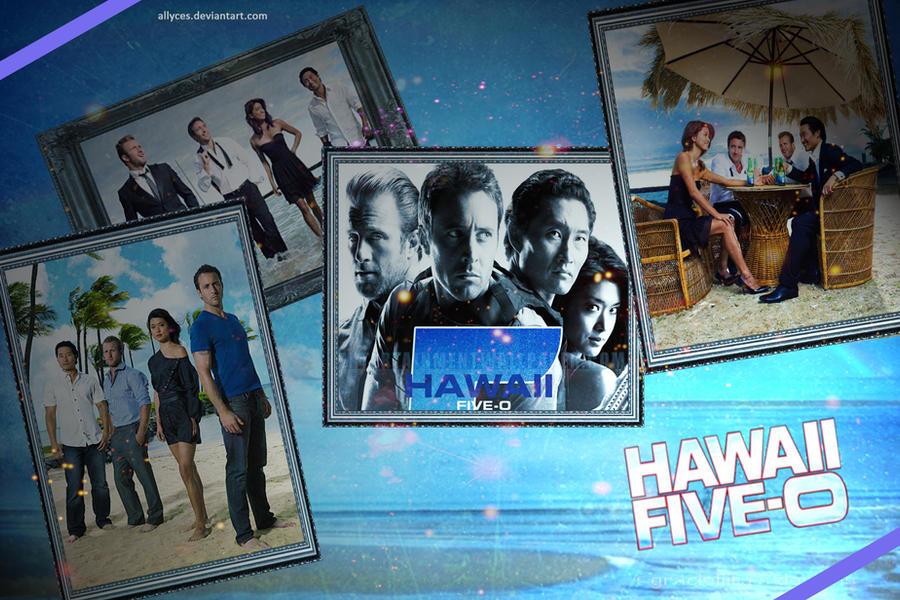 Hawaii Five O Wallpaper: Hawaii Five-O Team Wallpaper By Allyces On DeviantArt